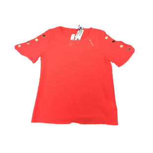 Primary Photo - BRAND: NEW DIRECTIONS STYLE: TOP SHORT SLEEVE COLOR: RED SIZE: M SKU: 297-29790-855
