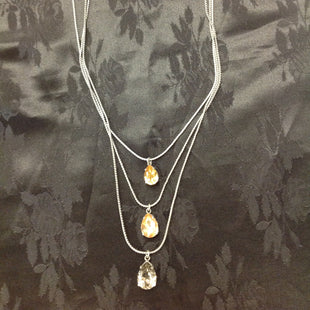 Primary Photo - BRAND: BANANA REPUBLIC STYLE: NECKLACE COLOR: SKIN TONE OTHER INFO: THREE CHAINS WITH STONES SKU: 297-29783-2443