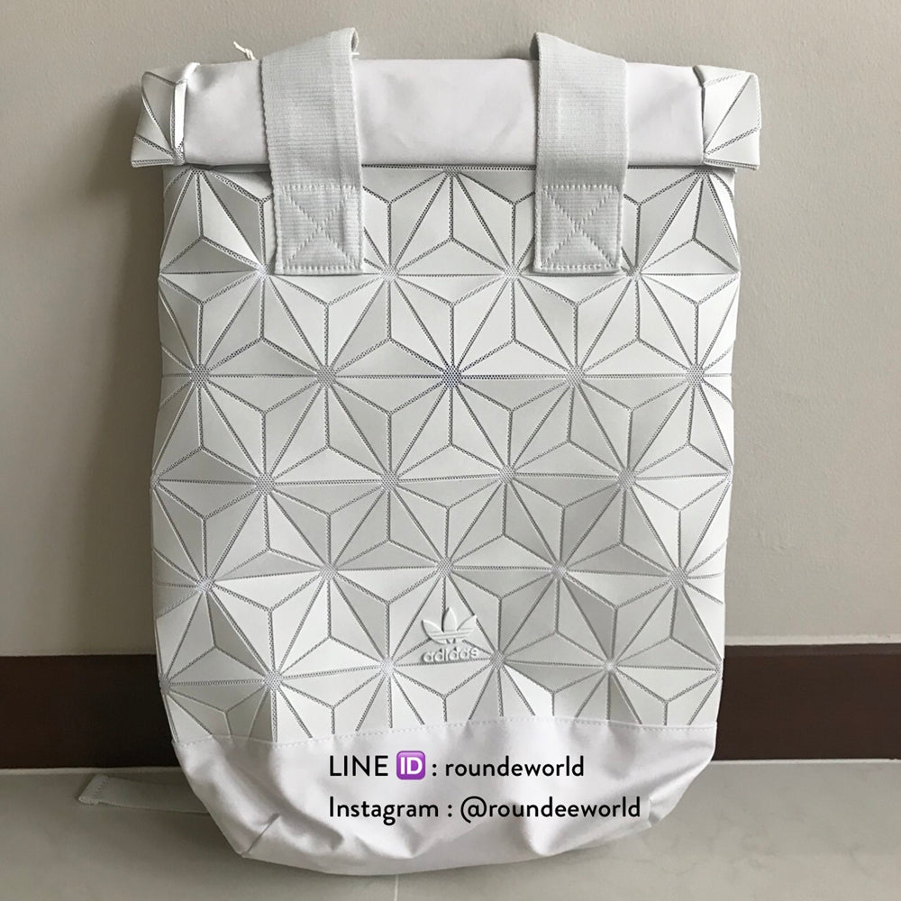34759f4d22 Adidas 3D Roll Top Backpack White 43b1bf17-a73d-4a37-b398-a2612b74fed5.jpg v 1529897120