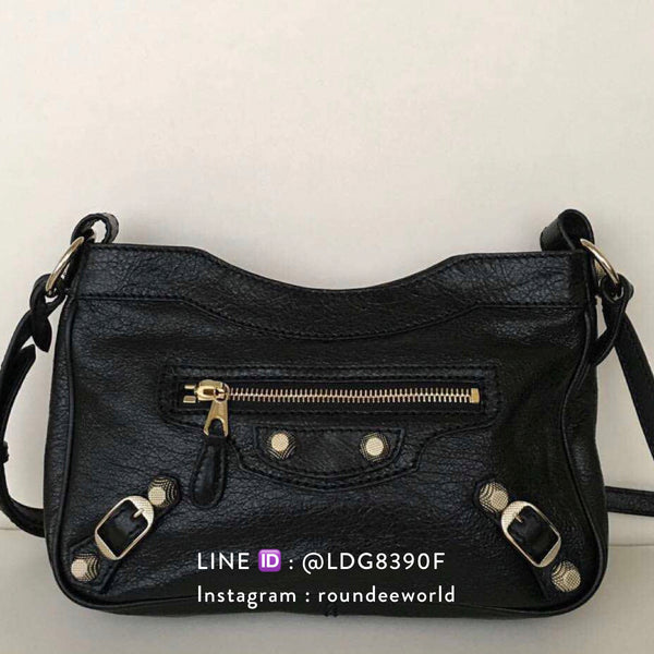 Balenciaga Giant Hip Bag - Black - Roundeworld