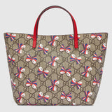 Gucci Children's GG Slyvie Bow Tote - Red