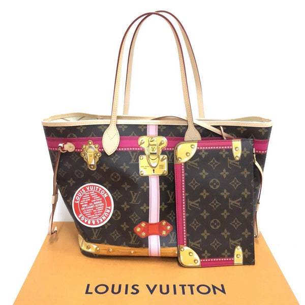 **Limited Edition** Louis Vuitton Neverfull MM Summer Trunks - Roundeworld