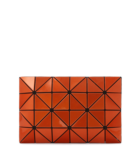 Lucent Metallic Clutch - Orange