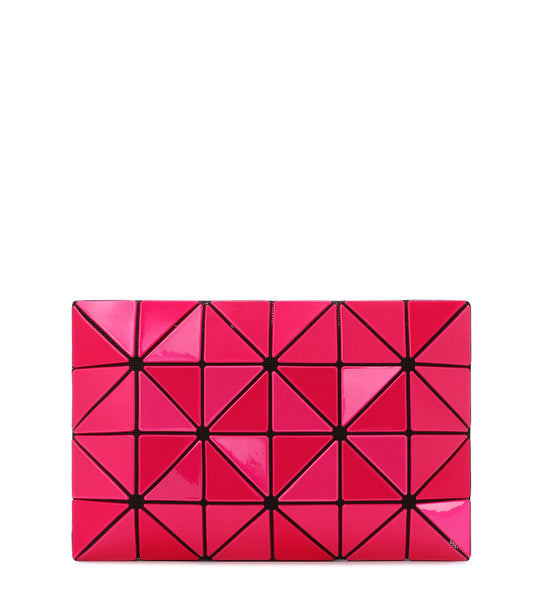 Lucent Metallic Clutch - Pink