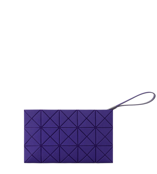 Lucent Nubuck Clutch - Purple