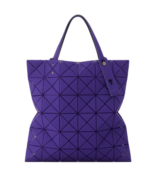 Lucent Nubuck Tote - Purple
