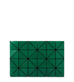 Lucent W Color Clutch - Green x Turquoise Blue