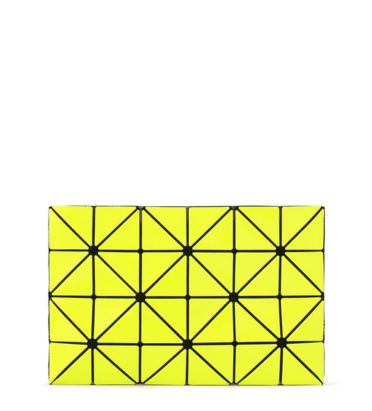 Lucent W Color Clutch - Lime Yellow x Yellow
