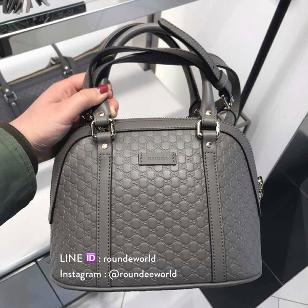 Gucci Microguccissima Mini Dome Bag - Grey