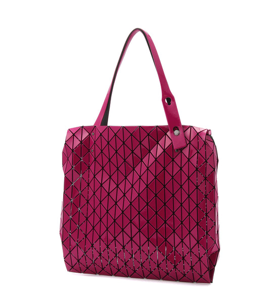 Row Gloss Tote - Bordeaux