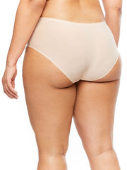 back of chantelle soft stretch plus size hipster