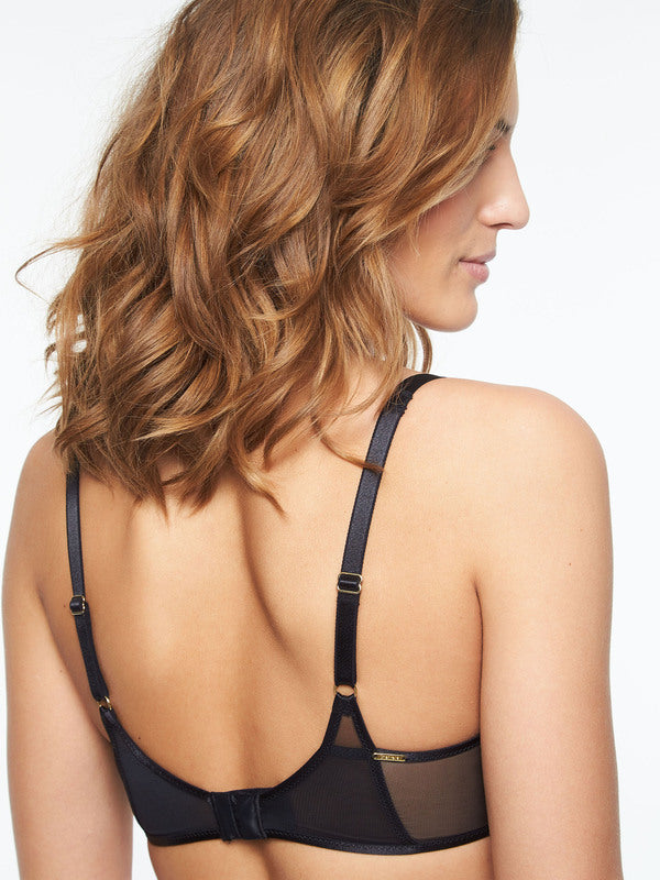 Pyramide Demi Bra back view