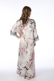 Christine Silk Kaftan Nightingale