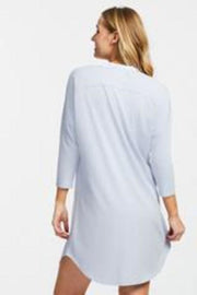 back blue  Fleurt Dolman Night Shirt