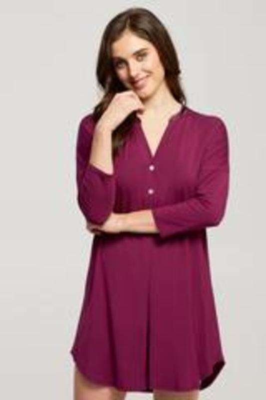 Fleurt Dolman Night Shirt royal plum
