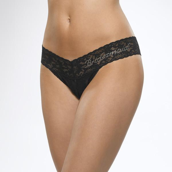 "Hanky Panky Signature Lace Low Rise ""Maid of Honor"""