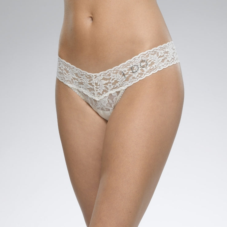 Hanky Panky Signature Lace I Do & Garter Belt 49Bridg