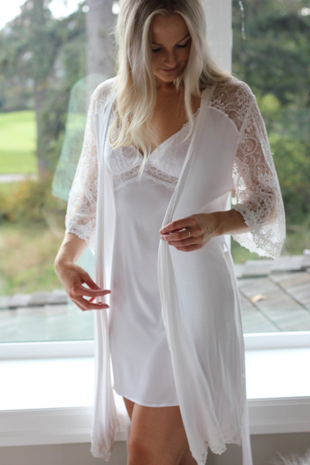 P J Salvage Bridal Robe