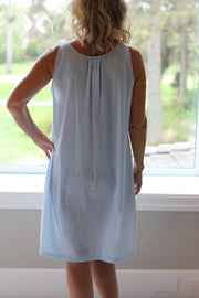 Shadowline Sleeveless Short Nightgown