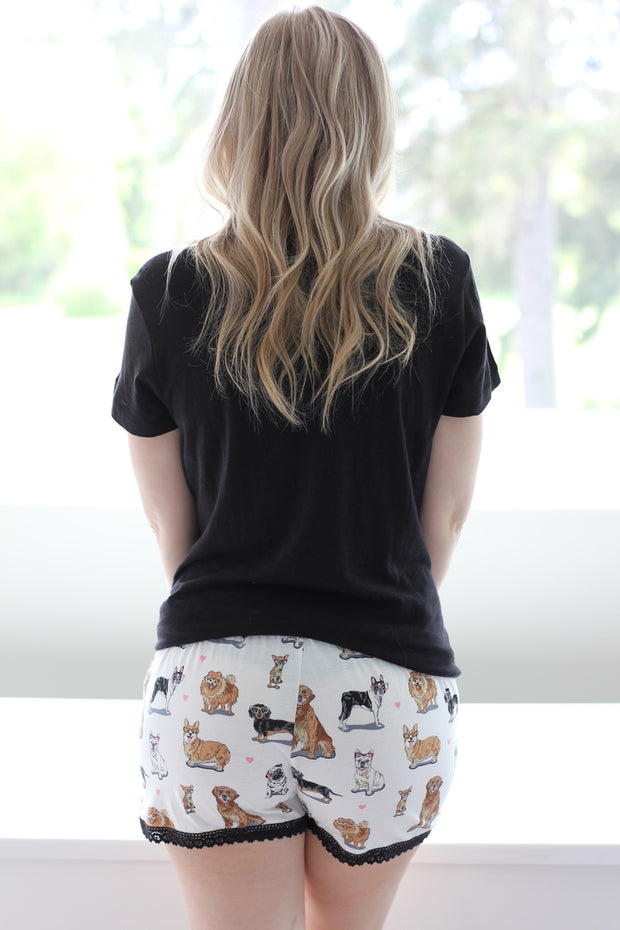 PJ Salvage Dog Mom Short PJ Set