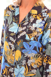 Mystique Floral Lounge/Night Shirt