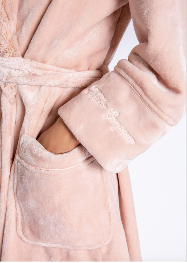 pocket view of PJ Salvage Luxe Plush Robe