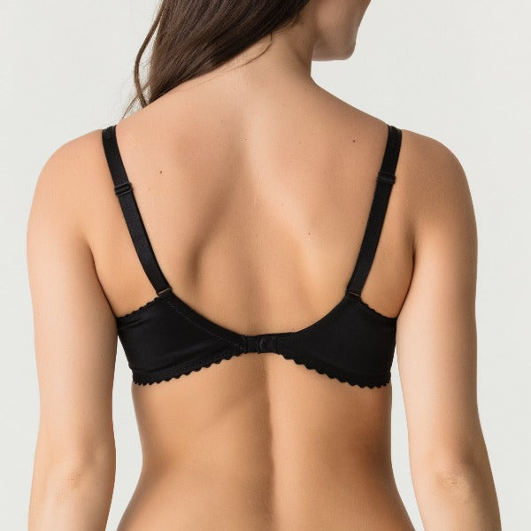 back view of Prima Donna Devine bra in black