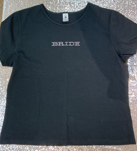 Bride short sleeve T-shirt
