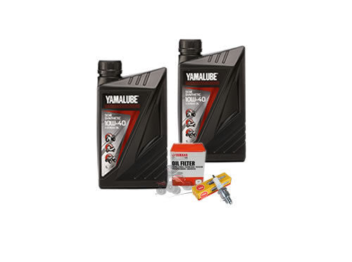 Genuine Yamalube Oil Change and Spark Plug Kit for the Yamaha YFM700 Raptor