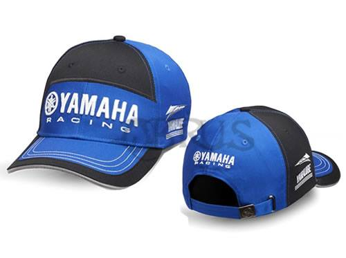 Genuine Yamaha 2018 Paddock Blue Black & Blue Adult Race Cap