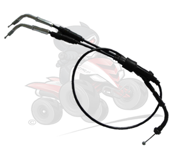 Genuine Twist Throttle Cable Twin Carb Version to fit the Quadzilla RAM SMC 250