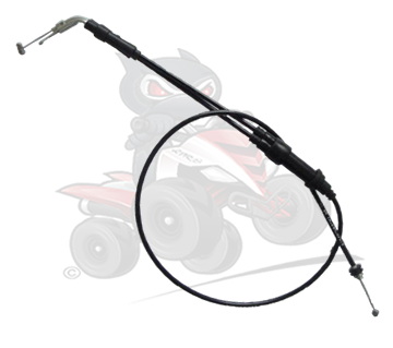 Genuine Thumb Throttle Cable to fit the Quadzilla 300 XLC/Stinger Early Model