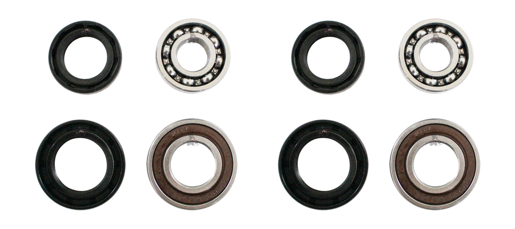 Set of 2 Front Wheel Bearing And Seal Kit to fit Yamaha 660 Raptor
