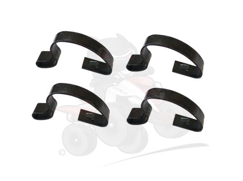 Genuine Yamaha Set of Four Air Box Lid Clips ( Hooks)