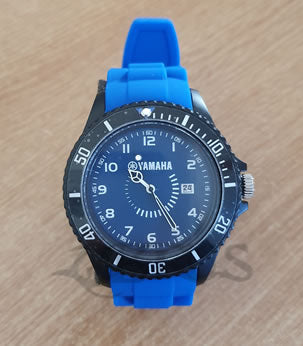 Genuine Yamaha 2019 Blue, Black/Red & Grey Edition Wrist Watches With Case