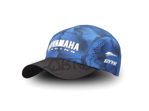 Genuine Yamaha 2020 Paddock Blue Racing Camo GYTR Adults Cap