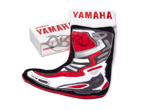 Genuine Yamaha Red/White/Black Christmas Stocking In Box