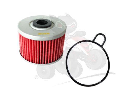 Aftermarket Oil Filter and O Ring to fit the Quadzilla Dinli 450 & 500 XLC
