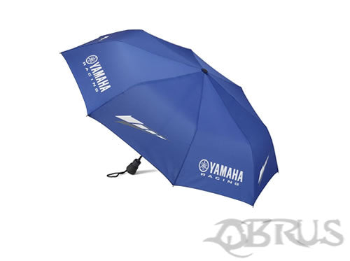 Genuine Yamaha Blue RACE Folded Umbrella