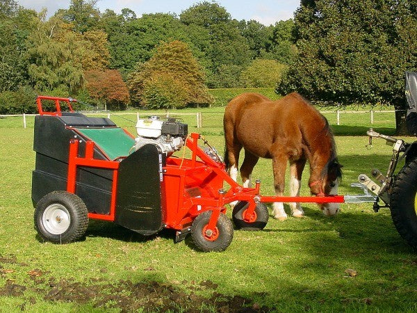 Equestrian Powered Brush \ Poo Picker
