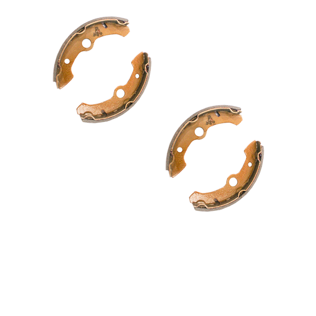 Pair Of Front Brake Shoes for a Yamaha Big Bear 350 (89-98)