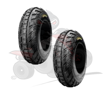 Pair of Maxxis Ambush 4 Ply Front Tyres 21x7x10