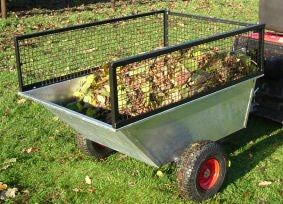Galvanised Tipping Trailer
