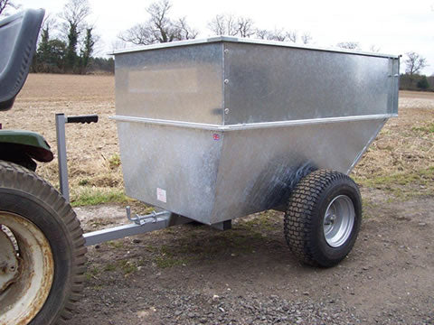 Large Capacity Galvanised Tipping Trailer