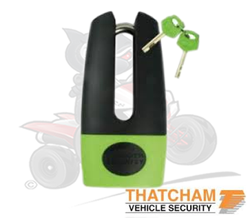 Thatcham Approved Mammoth Shackle Disc Lock