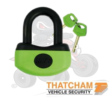 Thatcham Approved Mammoth U- Disc Lock