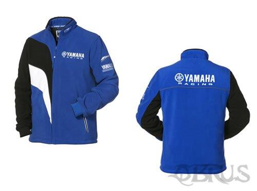 Genuine Yamaha Paddock Blue Men's Fleece Jacket