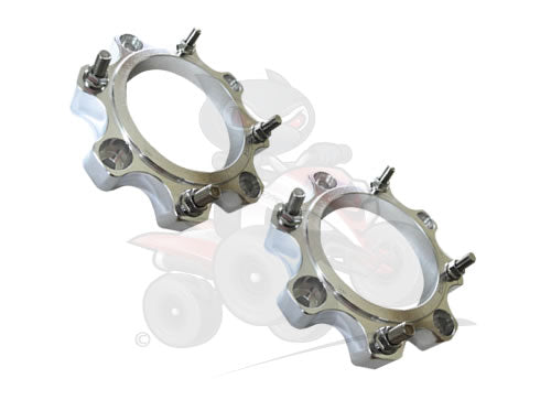 QBRUS Set Of Front Alloy Wheel Spacers 4/156 30mm (SMC)