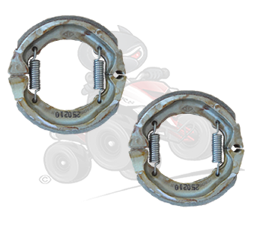Genuine Quadzilla SMC R100 Pair of Front Brake Shoes