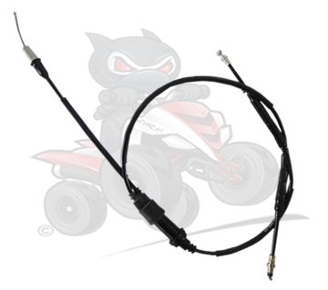 Genuine SMC R100 Thumb Throttle Cable